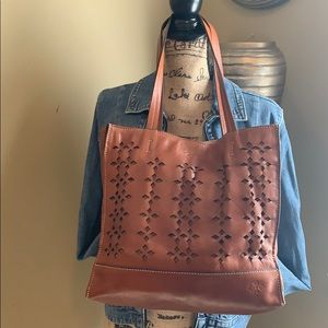 ‼️Price Drop‼️Patricia Nash Brown Leather  Tote